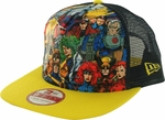 X Men Heroes Gel Logo Mesh 9FIFTY Hat