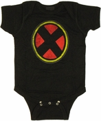 X Men Logo Snap Suit