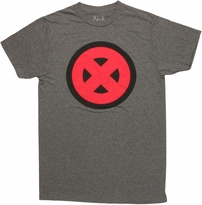 X Men Pop Art Logo T Shirt Sheer