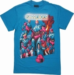 X Men Sentinels Surrender T Shirt