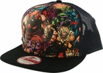 X Men Villains Gel Logo Mesh 9FIFTY Hat