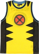 X Men Wolverine Basketball Jersey