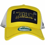 X Men Wolverine Framed Logo Mesh Hat