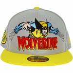 X Men Wolverine Hero Logo 59FIFTY Hat