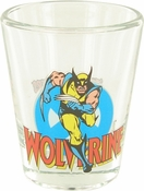 X Men Wolverine Mini Toon Tumbler Shot Glass