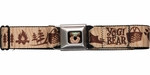 Yogi Bear Picnic Basket Campsite Seatbelt Belt