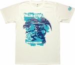 YuGiOh Blue Eyes White Dragon T Shirt Sheer