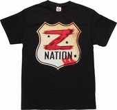 Z Nation Road Sign T-Shirt