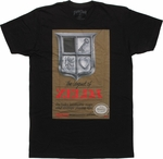 Zelda Classic Box Art T Shirt Sheer