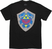 Zelda Hylian Shield T Shirt