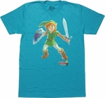 Zelda Link Between Worlds T Shirt