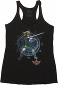 Zelda Link Guard Tank Top Baby Tee
