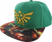 Zelda Logo Sublimated Bill Hat