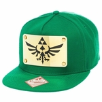 Zelda Metal Plate Crest Green Hat