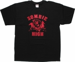 Zombie High Red Print T Shirt