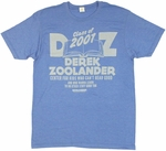 Zoolander Center T Shirt Sheer