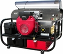 Black Knight� Model 624 Belt Drive Hot Water Super Skid Pressure Washer W/Free Freight