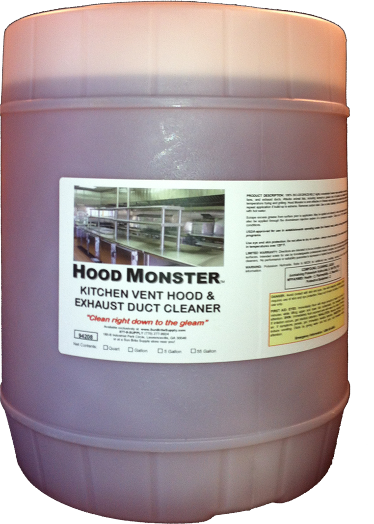 Restaurant Kitchen Hood Cleaning Monster The Best Exhaust Chemical