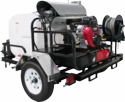 Pressure-Pro Super-Skid Factory-Built Trailer Rigs-Pressure Washing Equipment