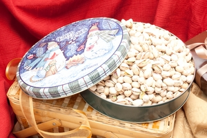 28oz Colossal Pistachios Holiday Gift Tin