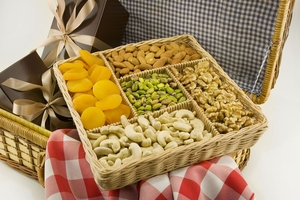 All Natural Nut Gift Basket
