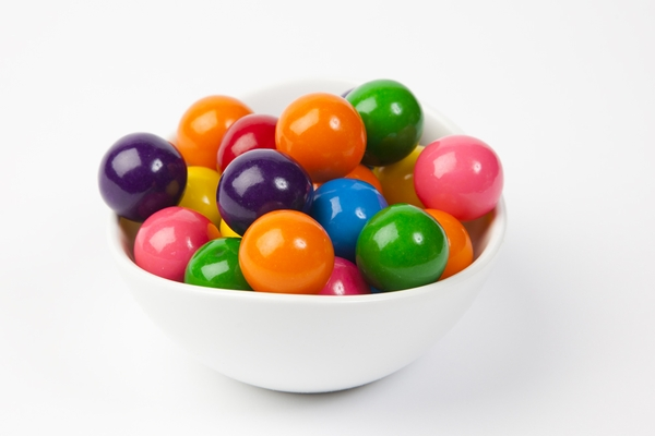 Assorted Gourmet Gumballs (4 Pound Bag)