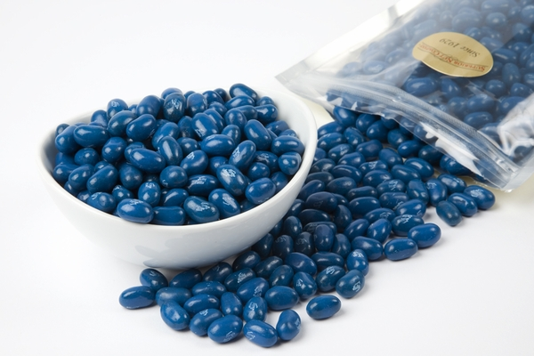 Blueberry Jelly Belly Jelly Beans (1 Pound Bag) - Blue