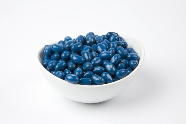 Blueberry Jelly Belly Jelly Beans (10 Pound Case) - Blue