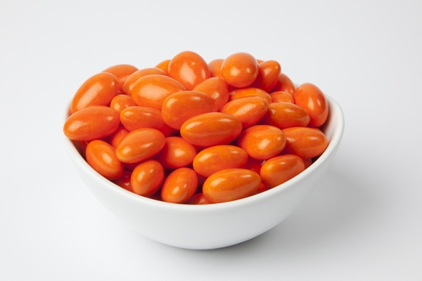 Bright Orange Jordan Almonds (5 Pound Bag)