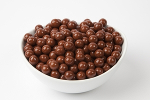 Brown Sixlets (10 Pound Case)