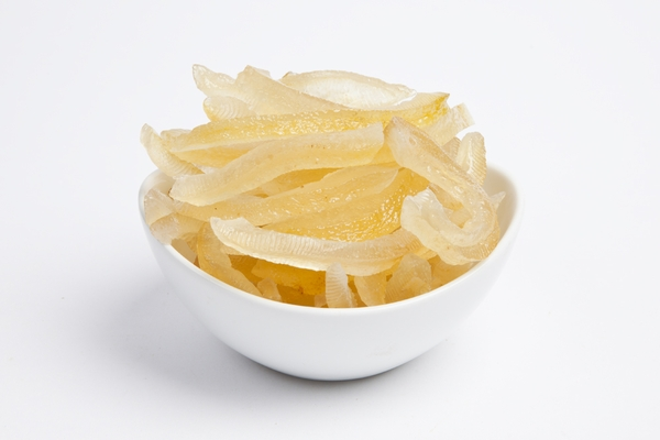 Candied Lemon Peels (4 Pound Bag)