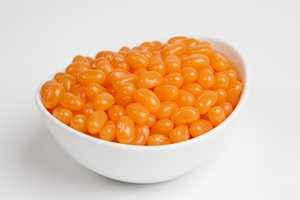 Cantaloupe Jelly Belly Jelly Beans  (5 Pound Bag)  - Orange