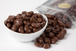 Chocolate Covered Cashews (1 Pound Bag) - Sugar Free