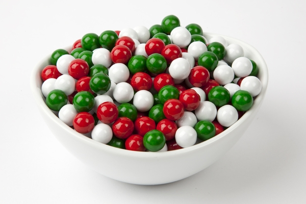 Christmas Sixlets (4 Pound Bag)