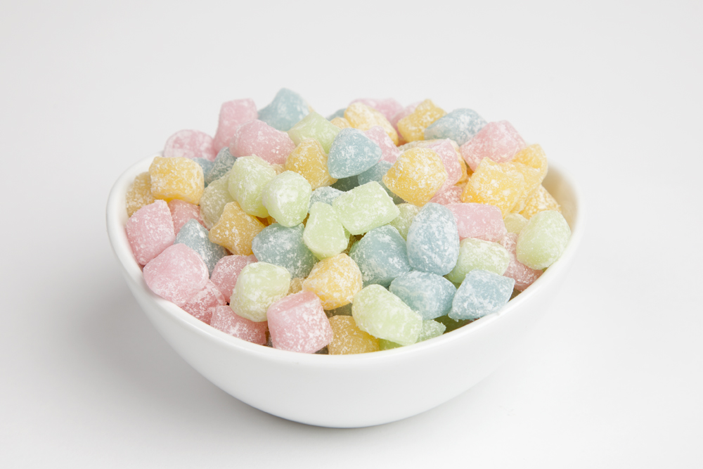 Colored Mochi Rice Cakes 4 Pound Bag