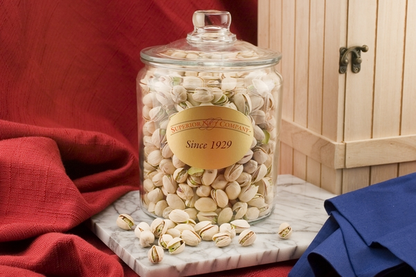 Colossal Pistachios (2.25 Pound Glass Jar)
