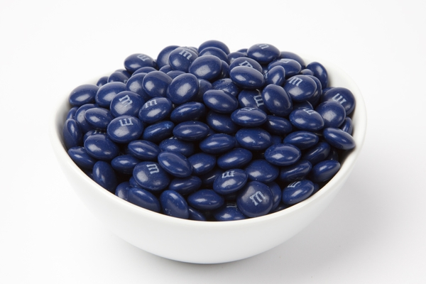 Dark Blue  M&M's Candy (5 Pound Bag)