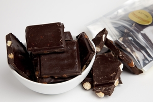 Dark Chocolate Almond Bark (8oz Bag)