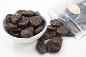 Dark Chocolate Covered Banana Chips (1 Pound Bag)