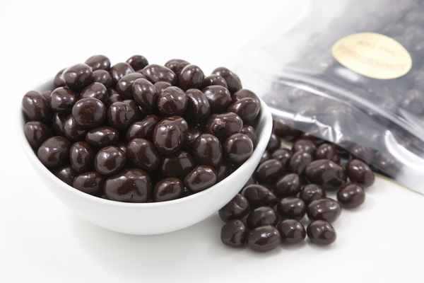 Dark Chocolate Covered Espresso Beans (1 Pound Bag)