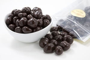 Dark Chocolate Covered Macadamias (1 Pound Bag)