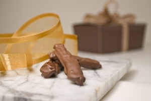 Dark Chocolate Dipped Orange Peels