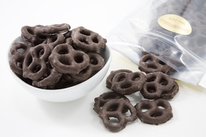 Dark Chocolate Pretzels (14 oz Bag)