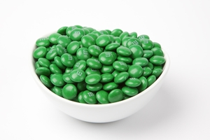 Dark Green  M&M's Candy (10 Pound Case)