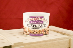 Deluxe Mixed Nuts, 9oz Canisters (Pack of 3)