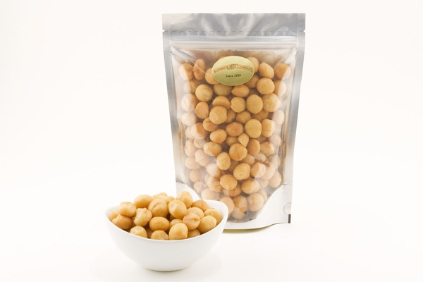 Deluxe Whole Macadamias (1 Pound Bag)