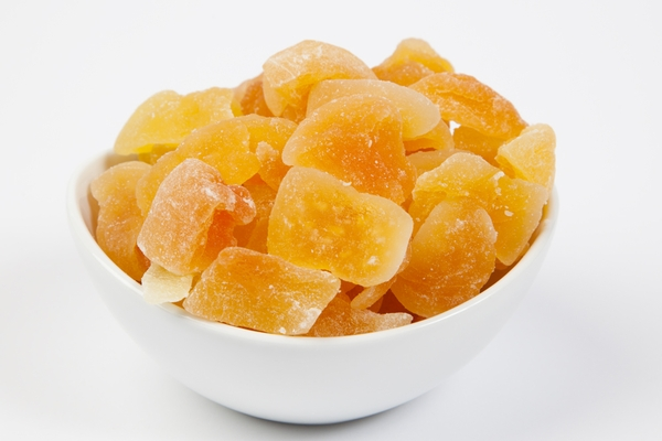 Dried Cantaloupe Chunks (4 Pound Bag)