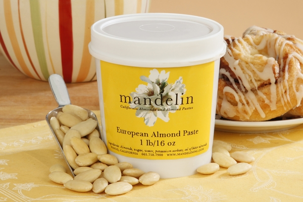 European Almond Paste (16oz Container)