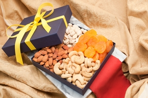 Fruit and Nut Quattro Gift Box
