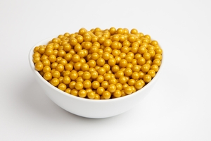 Gold Sugar Candy Beads (5 Pound Bag)